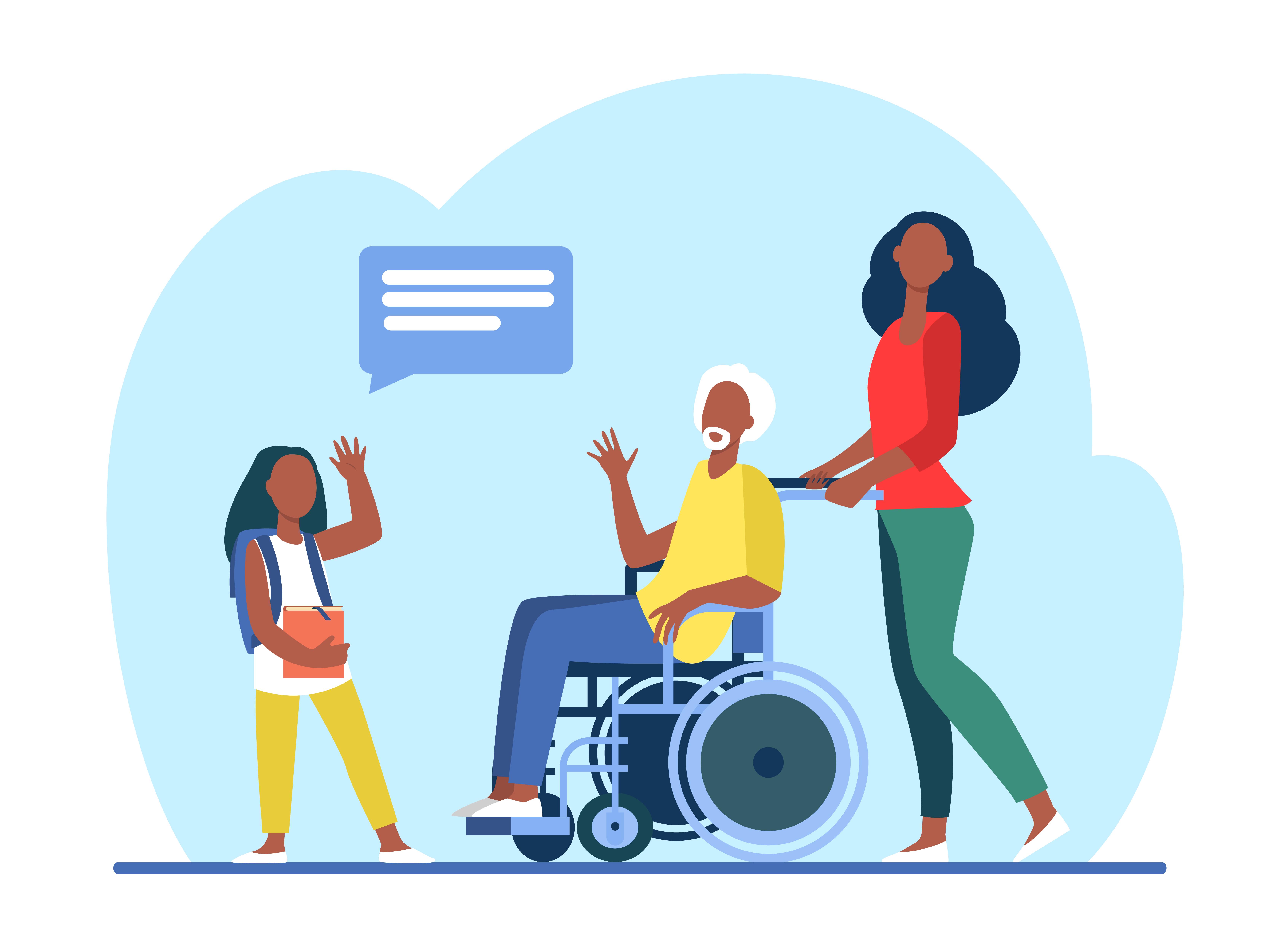 Contributi per l'assistenza ad anziani non autosufficienti